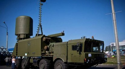 """The Russian military showed the """"Monolith"""" radar from the inside"""