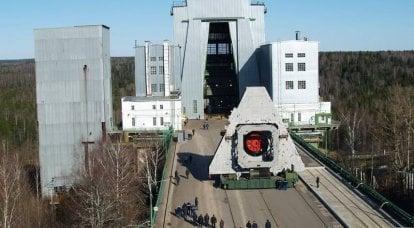 """俄罗斯国防军进行了""""安加拉"""" 1.2运载火箭第二阶段的射击测试"""