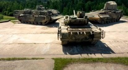 Similar a las operaciones militares en toda regla: en la prueba de vehículos blindados en Rusia