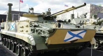 海兵隊は「海兵隊」BMP-3Fを受け取ることができます