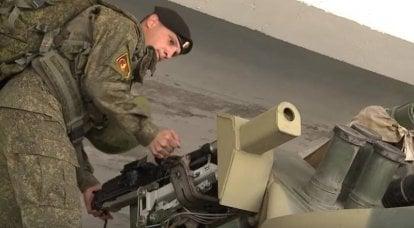 रूसी नौसैनिकों को रूस के अभियान बलों में सुधार किया जा रहा है