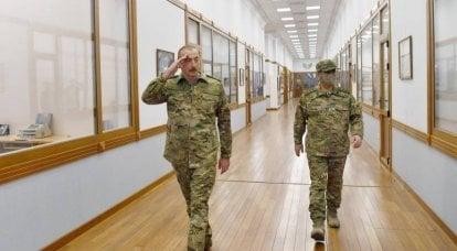Aliyev, Gubadli'nin Azerbaycan kontrolü altında ele geçirildiğini ve düşman teçhizatının imha edildiğini duyurdu