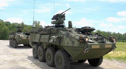 अमेरिकी बख्तरबंद कर्मियों के वाहक इलेक्ट्रॉनिक रक्षा उपकरणों को प्राप्त करेंगे