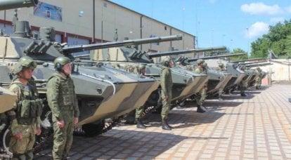 Bir tabur BMD-4M ve BTR-MDM seti, Hava Kuvvetlerinin İvanovo Muhafızları hava birimine girdi