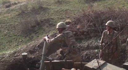 अजरबैजान ने काराबाख में अर्मेनियाई सेना के बड़े नुकसान की घोषणा की