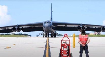 O bombardeiro estratégico B-52 da Força Aérea dos EUA simulou o lançamento de um míssil hipersônico no Alasca