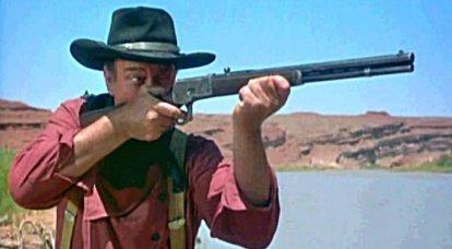 """La ballade sur le fameux """"Winchester"""": nouvelles cartouches, nouvelles armes ..."""