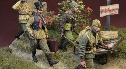 Une société polonaise a publié une série de chiffres de soldats soviétiques sous la forme de maraudeurs