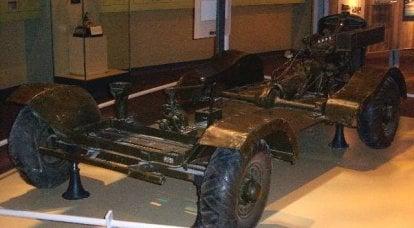 侦察车Howie机枪载具。 简化的受害者