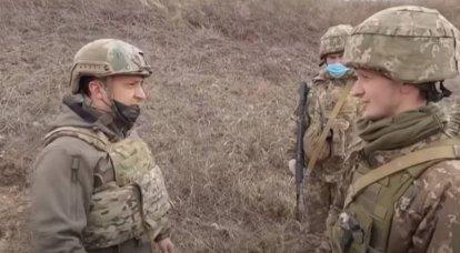 """""""Se necesita tregua"""": Zelensky se pronunció a favor de un alto el fuego en Donbass"""