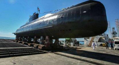 "डीजल पनडुब्बी ""फतेह""। ईरानी नौसेना के लिए नया जहाज"