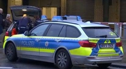 Un corps soupçonné d'avoir tiré en Allemagne