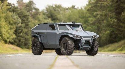 Arquus Scarabee-ハイブリッド装甲車