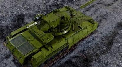 ソビエトから「有望なウクライナ人」へ:「ハンマー」戦車の3D画像があります