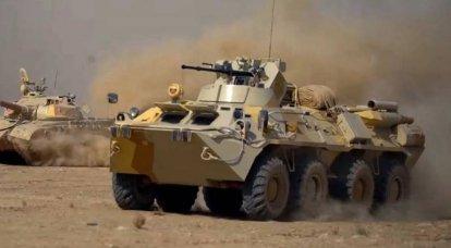 Cómo distinguir el nuevo BTR-82A de los vehículos antiguos: el ejemplo de Karabaj