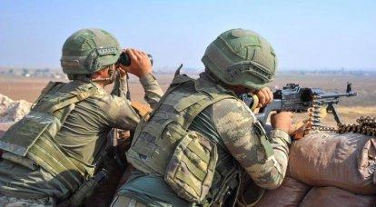 तुर्की ने इडलिब में SAA पर एक बड़े हमले को अंजाम देने का फुटेज दिखाया