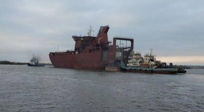 サハリンの新しい貨物旅客フェリーがウラジヴォストクに完成します