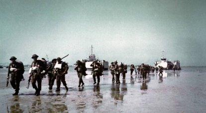 ドイツ海軍の戦闘スイマー:ノルマンディー上陸