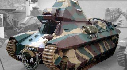 Onun yabancılar arasında. Fransız tankları. son