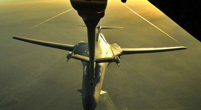 B-1B 미사일 캐리어의 초 북극 습격 위험. 지형 굴곡 모드를 기대하면서 북쪽에서 공격하십시오.