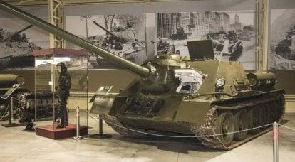 关于武器的故事。 SU-100内外