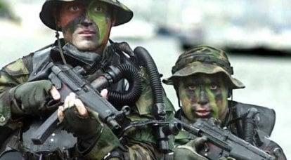 De nuevo, estas terribles fuerzas especiales rusas!