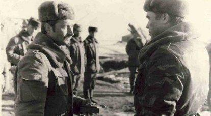 Coronel Vasily Masyuk: acepto el destacamento de Moscú