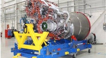 ロシアのRD-180に代わって米国で最初に納入されたロケットエンジン