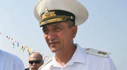 Von der Krim bis zum Kaukasus. Ossetischer Schachzug von Admiral Menyailo