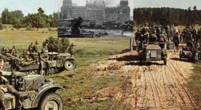 Ricognizione sui carri armati tedeschi e sulla fanteria motorizzata nel giugno 1941