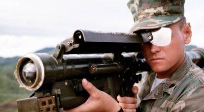 「手動」防空システム 2の一部 MANPADS FIM-43赤目