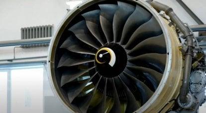 A questão da viabilidade tecnológica do país: motores russos de turbina a gás de aviação