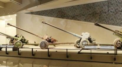 中国革命軍事博物館に展示されている中国の対戦車砲