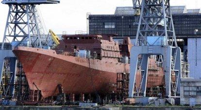 """""""Iron"""" de la nouvelle flotte de Russie"""