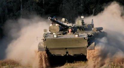 BMP-3: heimische gepanzerte Fahrzeuge mit einer riesigen Geographie