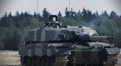Rheinmetall ने ब्रिटिश एमबीटी चैलेंजर 2 के आधुनिकीकरण के अपने संस्करण को दिखाया