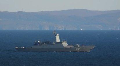 Project 20380 轻型护卫舰可配备反地雷复合体