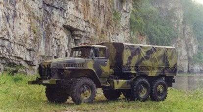 保护带有特殊装甲的卡车
