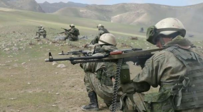 Demonstration of force as a guarantee of the security of the border with Afghanistan
