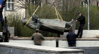 Maresciallo Corrotto. Perché si sono dimenticati della demolizione del monumento Konev a Praga?