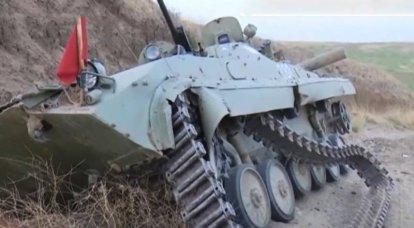 Armênia nega alegações de perda de comandante de batalhão de assalto aéreo
