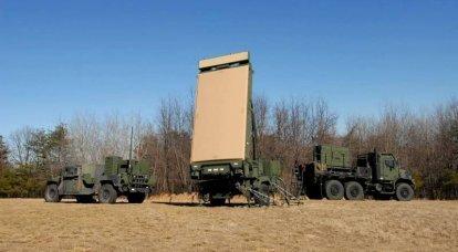 Radar AN / TPS-80 G / ATOR. Multifunktionswerkzeug für KMP USA