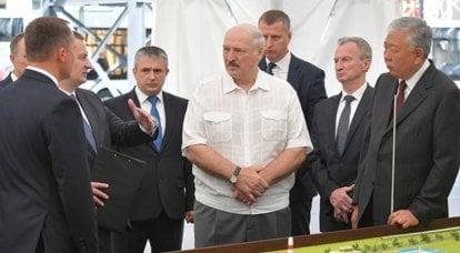"""लुकाशेंका ने उन लोगों के बीच रूसियों का नाम दिया जो बेलारूसी उद्यमों पर हमले के मामले में """"खुद को पार"""" करेंगे"""