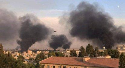 तुर्की की वायु सेना ने सीरिया के कुर्दिस्तान की आत्म-घोषित राजधानी को मार डाला