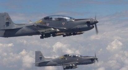 1970-1990'larda turboprop saldırı uçaklarının kullanımıyla mücadele
