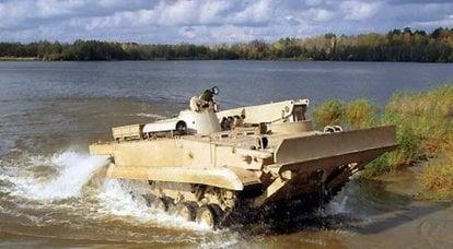 """用于疏散工作的装甲车 -  BREM-L""""Beglyanka"""""""