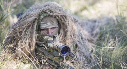 Never run away from a sniper ...