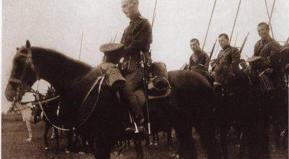 सामरिक घुड़सवार सेना। अप्रैल में बाल्टिक राज्यों में रूसी घुड़सवार सेना - मई 1915 सी। 1