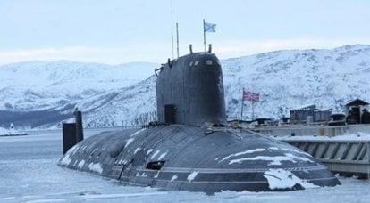 """미국 장군 : 러시아 해군의 잠수함 """"애쉬""""-미국에 대한 지속적이고 즉각적인 위협"""