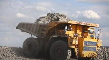 ベラルーシ、ロシアでBelAZダンプトラックの生産開始を提案